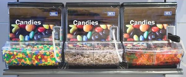 Acrylic Display and Bulk Food Bins