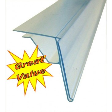 ANGLED GLASS SHELF SCANSTRIP 30 x 1200mm
