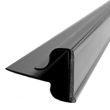 Wireshelf Scanstrip Black (Narrow Back)