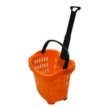 Trolley Basket - Orange