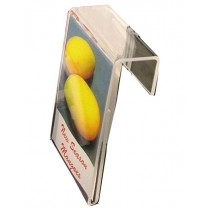 Acrylic Hook Top Ticket Holder A4