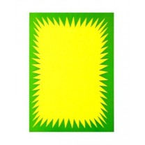 Flash Ticket Green and Yellow
