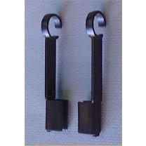 Frame Hanger Clip Set - Black
