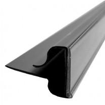 Wireshelf Scanstrip Black (Narrow Back)
