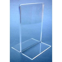Double Sided Acrylic Card Holder - A5