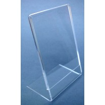 Single Sided Acrylic Card Holder - A4