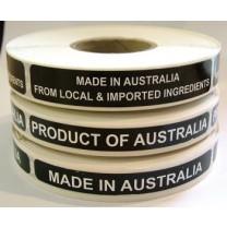 Deli origin Labels
