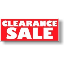 POSTER - CLEARANCE SALE