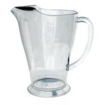 Polycarbonate Pitcher with Ice Lip