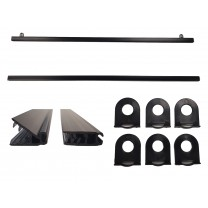 Poster Rail Black Kit