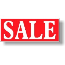POSTER - SALE 1000 x 380mm
