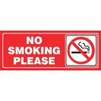 Sign - No Smoking Please