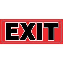 Sign - Exit