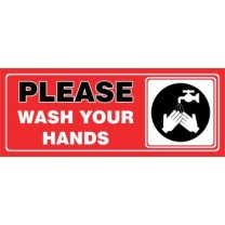 Sign - Please Wash Yuur Hands