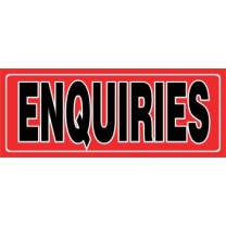 Sign - Enquiries