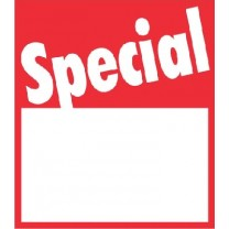 STICKER SPECIAL RED (250)