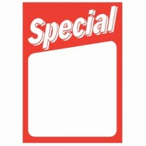 Single Use Cardstock Ticket - Special