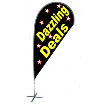 TEARDROP FLAG - DAZZLING DEALS