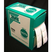 Adhesive Velcro Dots Dispenser Box