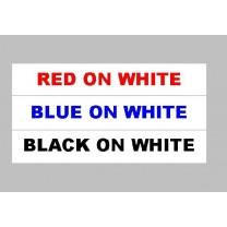 White Tape Options