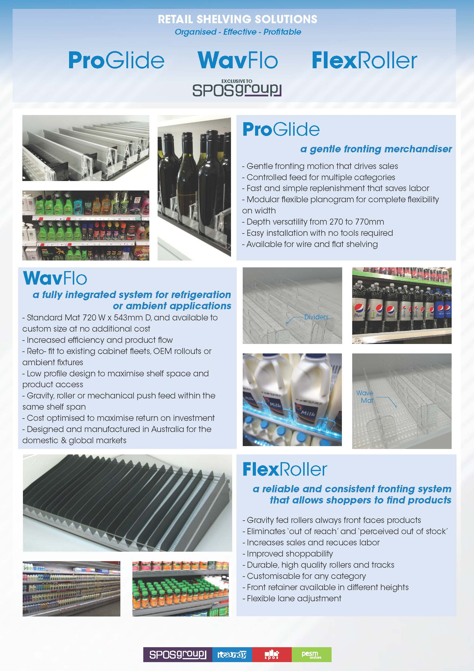 Retail Shelving Solutions SPOS